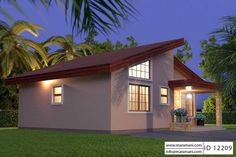 Two Bedrooms House Plans Elegant Unique Small House Plan Id Floor Plans by Maramani 3d House Plans, Beach House Plans, Luxury House Plans, Craftsman House Plans, Dream House Plans, Modern House Plans, Unique Small House Plans, Simple House Plans, 2 Bedroom House Plans