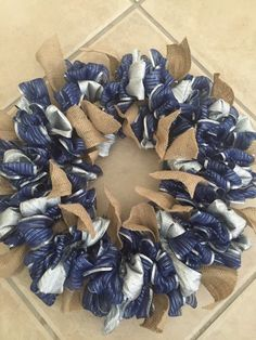 A personal favorite from my Etsy shop https://www.etsy.com/listing/276799942/ribbon-wreath-custom-wreath-burlap