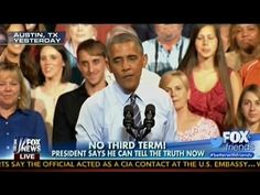 No Third Term! - Obama Says He Can Tell The Truth Now - Fox & Friends