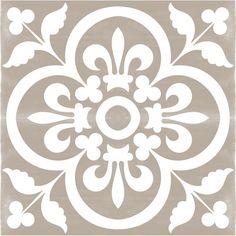 Vinyl Floor Tile Sticker – Floor decals – Carreaux Ciment Encaustic Corona Tile Sticker Pack in Grey Vinyl Floor Tile Sticker Floor decals Carreaux by QUADROSTYLE Floor Decal, Floor Stickers, Bathroom Flooring, Vinyl Flooring, Garage Flooring, Slate Flooring, Terrazzo Flooring, Cork Flooring, Flooring Ideas