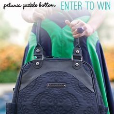 Enter to Win the Gorgeous Petunia Pickle Bottom Sashay Satchel through Baby Steals! Best Diaper Bag, Diaper Bags, Baby Giveaways, Petunia Pickle Bottom, Everything Baby, Petunias, Baby Love, Mom Baby, Baby Gear