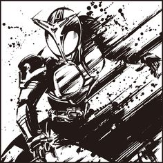 Kamen Rider Kabuto, Super Mario Art, Kamen Rider Series, Anime Cat, White Art, Ranger, Graphic Art, Pop Culture, Cool Art