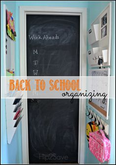 Back to School Organization Tips by Hip2Save.com