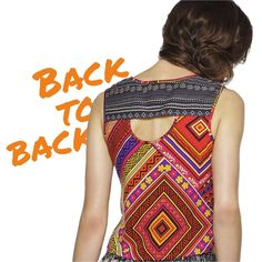 Talk to my back!  #Quirky #details #globaldesi #prints #top #fashion #backdetails #fashiontrend #ootd #love   Shop online: http://bit.ly/PandoraTop
