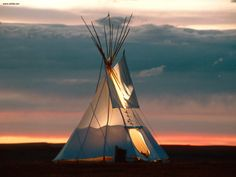 Tepee On The Range Wyoming