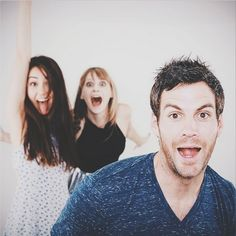 Joanna, Daye, and Brent. Love them!