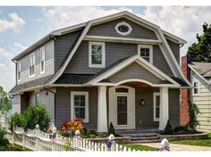 Modern Colonial Style Homes this style of home is called dutch colonial. our first home was