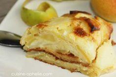 Invisible pommes poires – 115 kcal   Cuisine Ophélie