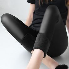 Get Great Fitness Wear Here!  Winter warm 100kg fat MM plus size women plus velvet solid color imitation leather high waist pants Leggings 6XL femme MZ1097     Follow Us For Great Workout Clothes     FREE Shipping Worldwide     Get it here ---> http://workoutclothes.us/products/winter-warm-100kg-fat-mm-plus-size-women-plus-velvet-solid-color-imitation-leather-high-waist-pants-leggings-6xl-femme-mz1097/    #aerobics