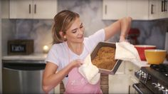 thank you Mikaela for helping me give my Mom's recipe a makeover -- http://mikaelareuben.com/ subscribe to Klossy ▻▻ https://www.youtube.com/c/karliekloss?su...
