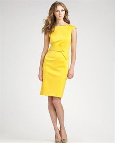 7e2d8defaee4bb The David Meister Cap-Sleeve Belted Dress ( 360) is sunny for summer.