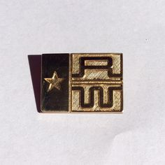 RETIRED JAMES AVERY 14K GOLD TEXAS FEDERATION OF REPULICAN WOMEN PIN BROOCH  #JAMESAVERY