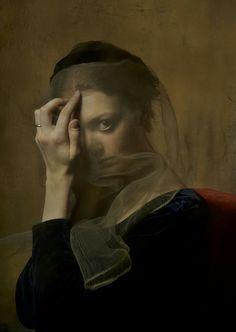 by Daniel Murtagh - Kate photographic portrait Foto Art, Classical Art, Renaissance Art, Aesthetic Art, Dark Art, Art Inspo, Art History, Painting & Drawing, Art Reference