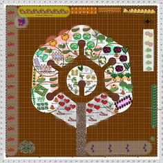 The mandala garden symbolizes the completeness of this new family.