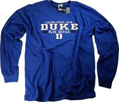 Duke Shirt T-Shirt Blue Devils College University Apparel Officially  Licensed By The NCAA 9b6df8830