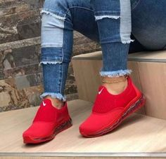 37 Trendy How To Wear Nike Trainers Sneakers How To Wear Sneakers, Cute Sneakers, Casual Sneakers, Cute Shoes, Sneakers Fashion, Me Too Shoes, Casual Shoes, Fashion Shoes, Sneakers Nike