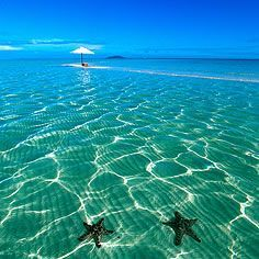 Amanpulo, Palawan >> Why does my ocean not look like this?! :) So pretty!
