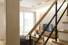 働く女性の悩みを解決! 生の声を取り入れた理想の家 コーワの家写真集 注文住宅 石川県金沢市 Muji Home, Sweet Home, Stairs, House, Home Decor, Muji House, House Beautiful, Home, Stairway