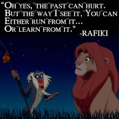 Lion King | disney | inspirational quotes | tough day | sad | movie quotes