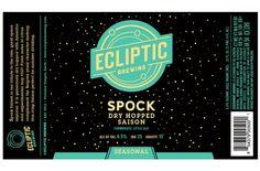 Ecliptic Bottling Spock Dry-Hopped Saison