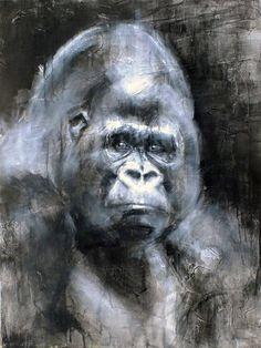 Original Animal Painting by Francois Cognet Art Original, Original Paintings, Acrylic Painting Canvas, Canvas Art, Canvas Size, Galerie D'art En Ligne, Animal Drawings, Drawing Animals, Art Plastique