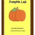 A simple one page pumpkin lab sheet for Pre-K or kindergarten. ...