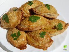 fűszeres csirkemáj tésztában Diabetic Recipes, Diet Recipes, Bacon, Paleo, Food And Drink, Diet, Healthy Diet Recipes, Pork Belly, Paleo Food