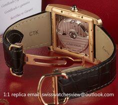 Cartier Tank MC 18K Gold Watch W5330001