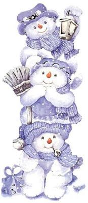 I used to collect any Snowman figurine that displayed snowmen because of my 3 boys. Christmas Clipart, Vintage Christmas Cards, Christmas Printables, Christmas Pictures, Christmas Snowman, Winter Christmas, Christmas Time, Christmas Crafts, Christmas Decorations