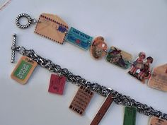 cool shrinky dink bracelet tutorial