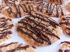Florentines with chocolate drizzle - Andrea Meyers