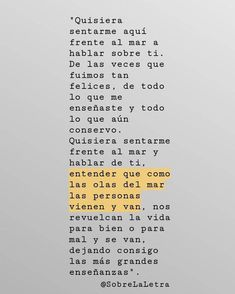 Image about love in Frases by Tessa on We Heart It Sad Quotes, Book Quotes, Life Quotes, Inspirational Quotes, Pretty Words, Love Words, Beautiful Words, Love Phrases, More Than Words