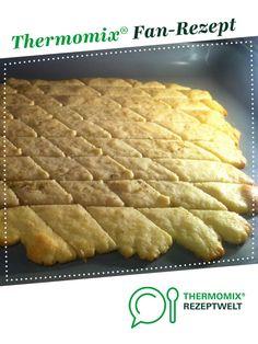 Parmesan-Cracker von Moichido. Ein Thermomix ® Rezept aus der Kategorie Backen herzhaft auf www.rezeptwelt.de, der Thermomix ® Community.