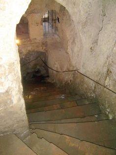 Ronda - Minas stairs (RobertBovington, Dec 2014) The House of the Moorish King