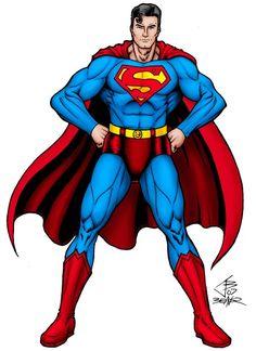 Superman - Akimbo by PrimeOp on DeviantArt Superman Drawing, Superman Art, Comic Drawing, Marvel Images, Marvel Art, Marvel Comics, Superman Characters, Cartoon Characters, Fictional Characters