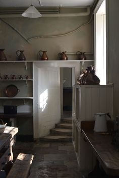 A kitchen at Osterly