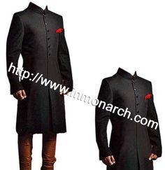 e3bb3f9f2d6e Superb designer Jodhpuri sherwani made from black color 65% polyester 35%  merino wool fabric. Indian Men FashionWedding ...