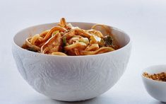 Asian Noodles with Chicken and Scallions