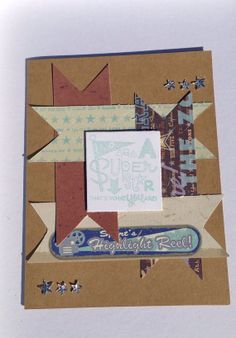 Handmade Paper Any Occasion Greeting Card by Scrapbooker429, $3.75 https://www.etsy.com/listing/162768686/handmade-paper-any-occasion-greeting?ref=shop_home_active_16