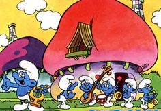 The Smurfs were the best!