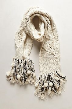 Last Leaf Scarf - anthropologie.com