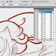 How to Use Brushes in Adobe Illustrator to Ink a Sketch - Tuts+ Design & Illustration Tutorial
