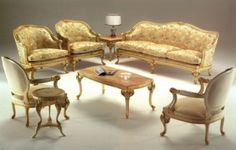 French living room furniture Antique Dining Room Sets, Antique Living Rooms, French Living Rooms, Living Room Sets, Living Room Furniture, Living Room Decor, Classic Interior, French Furniture, Furniture Inspiration
