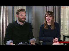 Jamie Dornan and Dakota Johnson interview   Breakfast BBC