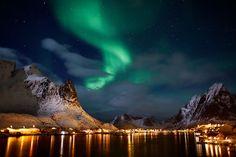 The Northern Lights in Scandinavia