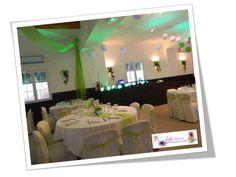 Déco mariage salle, tables & chaises LM Création (centre var)