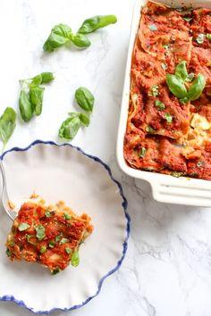 Gesunde Blumenkohl-Lasagne - vegan, glutenfrei, ohne raffinierten Zucker - de.heavenlynnhealthy.com