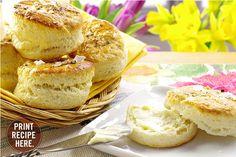 Easter Dinner |  Ina Garten's Make-Ahead Salt & Pepper Biscuits.  #Bisuits #InaGarten #WhiskCarolina