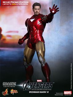 Sideshow Collectibles - Iron Man Mark VI - Avengers Sixth Scale Figure