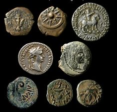 Ancient Biblical Holy Land Coins  Widow's Mites, Herod the Great,  Pontius Pilate, Caesar Augustus, etc.